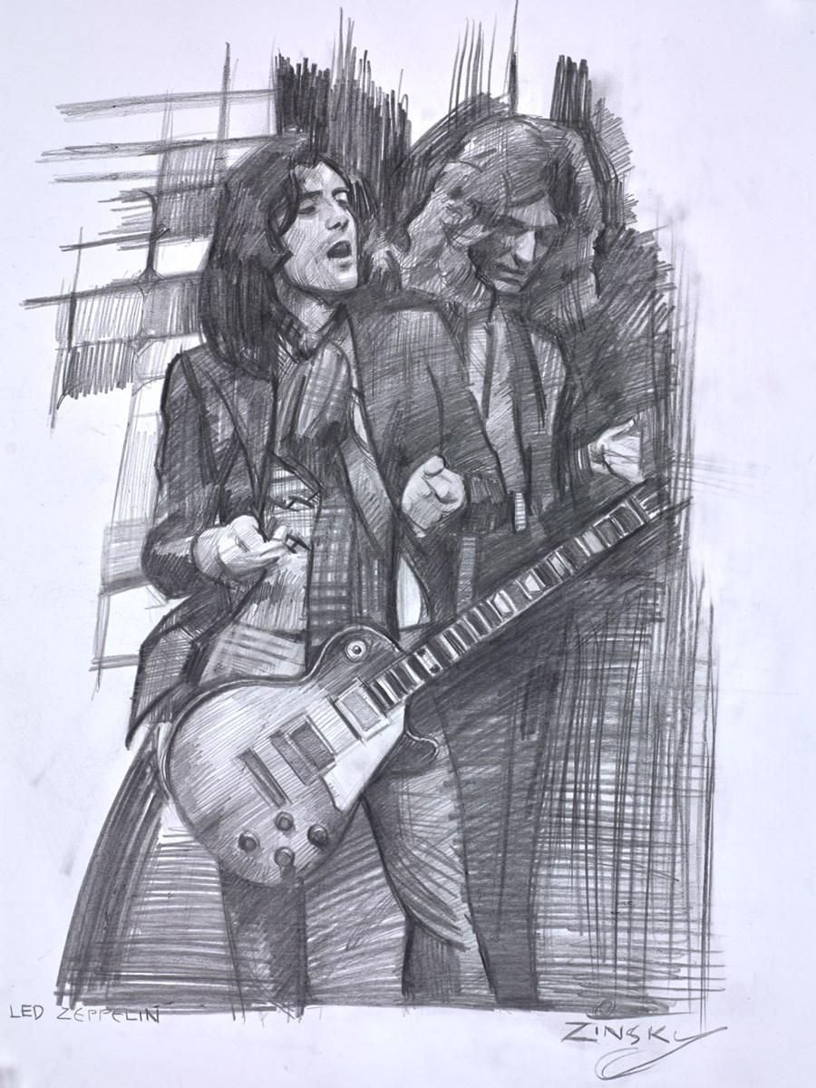 Led Zeppelin (Sketch)